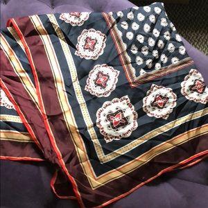 NWT Vince Camuto jewel paisley silk scarf